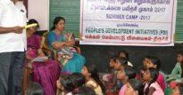 Campamento en Tiruchy 2017 Implicadas no Desenvolvemento